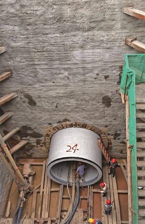 北京排水集团清河北岸截污工程