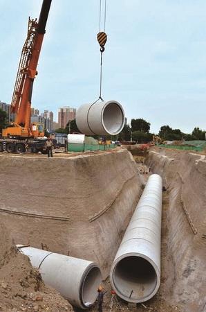 北京朝阳区污水管线